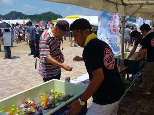 第20回たまの・港フェスティバル参加