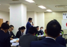 県青連出向者会議in井原